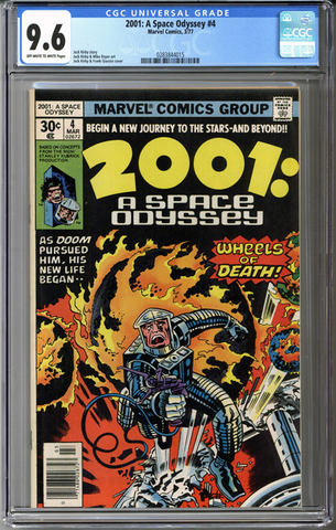 Colorado Comics - 2001: A Space Odyssey #4  CGC 9.6