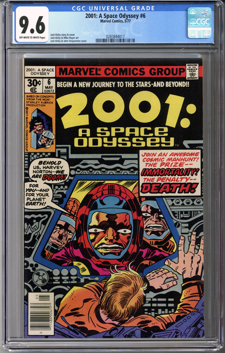 Colorado Comics - 2001: A Space Odyssey #6  CGC 9.6