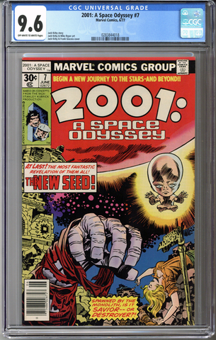 Colorado Comics - 2001: A Space Odyssey #7  CGC 9.6