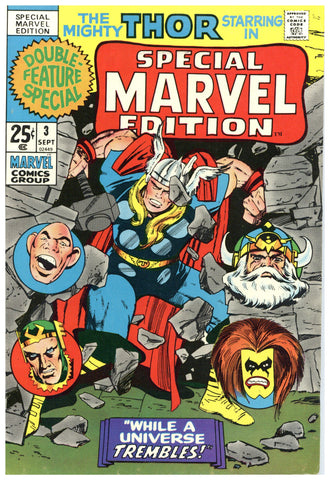Special Marvel Edition #3 Fine