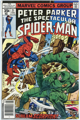 Spectacular Spider-man #21 NM