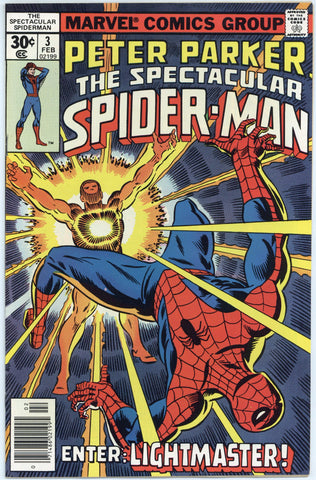 Spectacular Spider-man #3 VF+