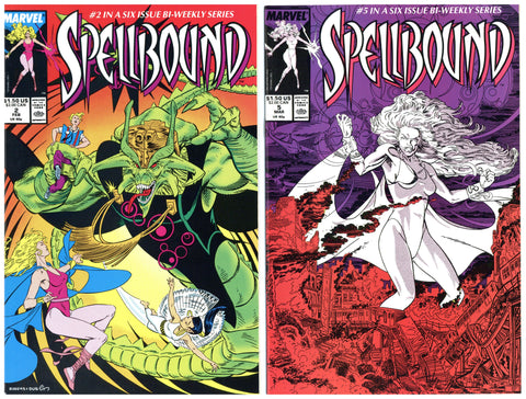 Spellbound #2 and #5 NM