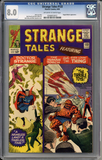 Colorado Comics - Strange Tales #133  CGC 8.0