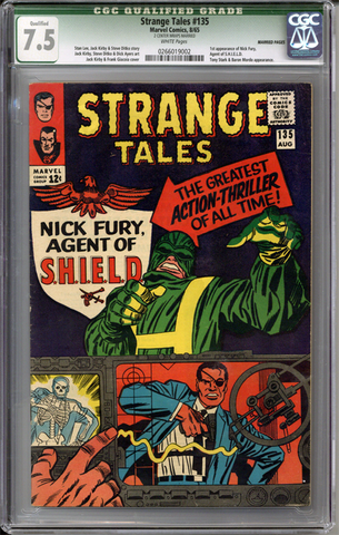 Colorado Comics - Strange Tales #135  CGC 7.5 Qualified