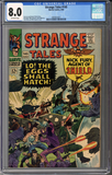 Colorado Comics - Strange Tales #145  CGC 8.0
