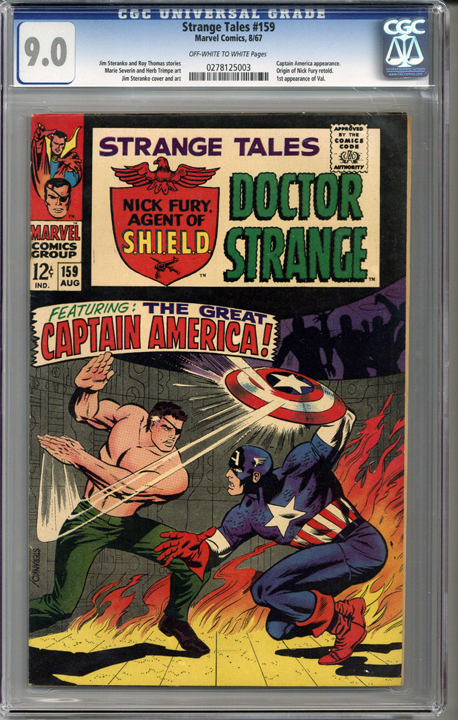 Colorado Comics - Strange Tales #159  CGC 9.0