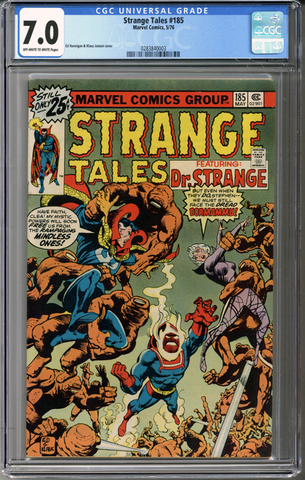 Colorado Comics - Strange Tales #185  CGC 7.0