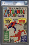 Colorado Comics - Strange Tales Annual #2  CGC 3.0