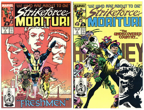 Strikeforce Morituri #8, 9, 10, 12 and 29 (5 books total) NM