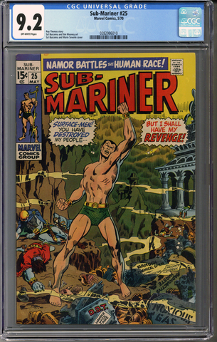 Colorado Comics - Sub-Mariner #25  CGC 9.2