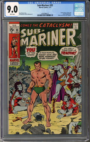 Colorado Comics - Sub-Mariner #33  CGC 9.0