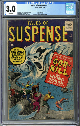 Tales of Suspense #12 CGC 3.0