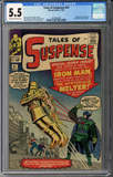 Colorado Comics - Tales of Suspense #47 CGC 5.5