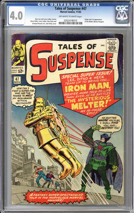 Tales of Suspense #47  CGC 4.0