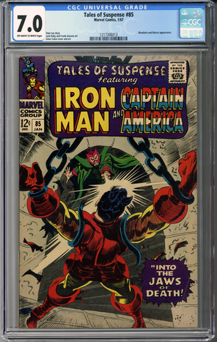 Colorado Comics - Tales of Suspense #85  CGC 7.0