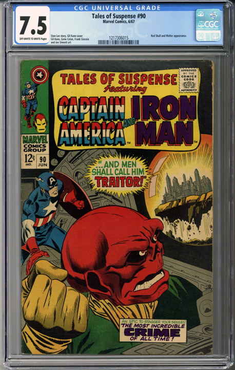 Colorado Comics - Tales of Suspense #90  CGC 7.5