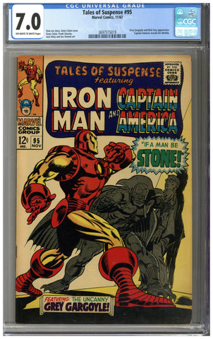 Tales of Suspense #95 CGC 7.0