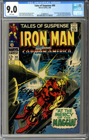 Tales of Suspense #99 CGC 9.0