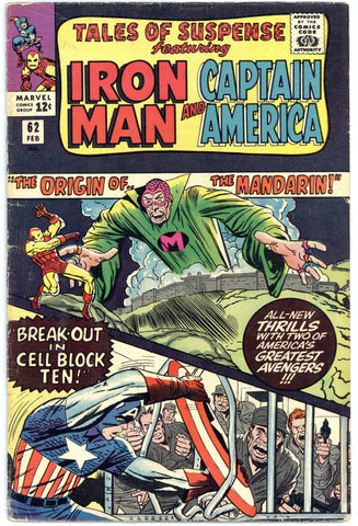 Tales of Suspense #62 VG+