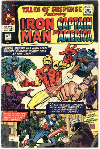 Tales of Suspense #67 VG+