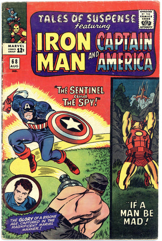 Tales of Suspense #68 VG