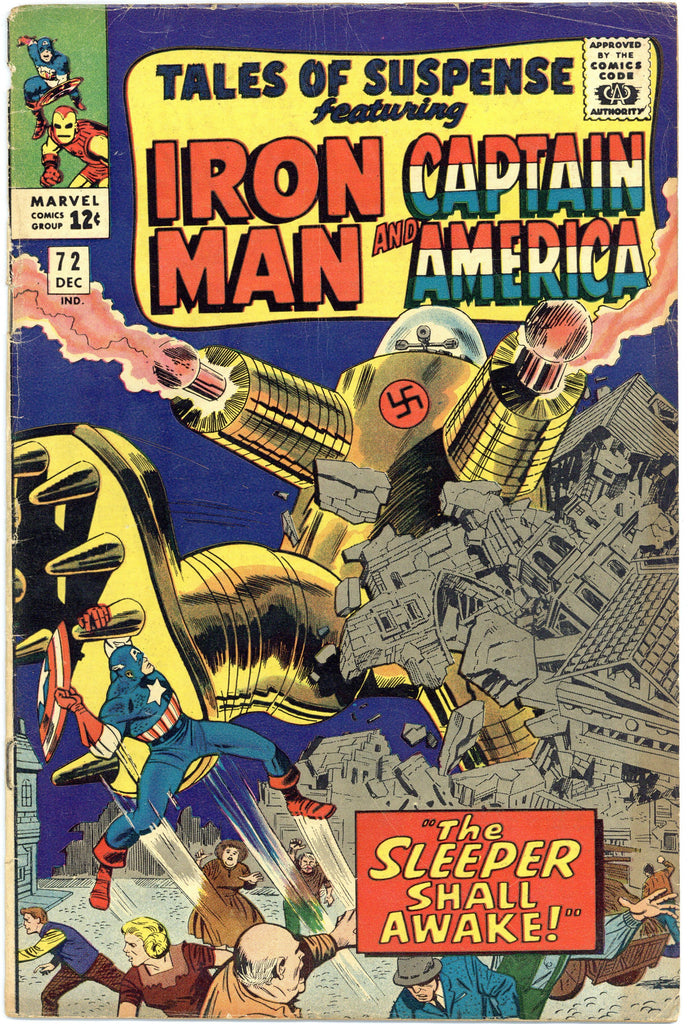 Tales of Suspense #72 VG