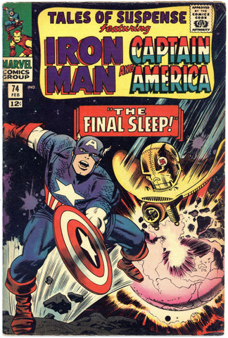 Tales of Suspense #74 Fine