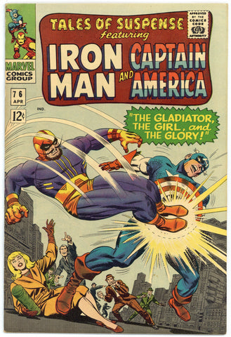 Tales of Suspense #76 Fine