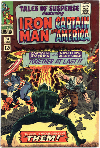 Tales of Suspense #78 VG+