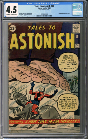 Colorado Comics - Tales to Astonish #36  CGC 4.5