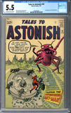 Tales to Astonish #39 CGC 5.5