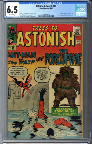 Tales to Astonish #48 CGC 6.5