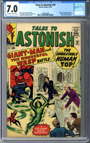Tales to Astonish #50 CGC 7.0