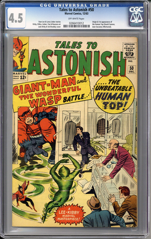 Colorado Comics - Tales to Astonish #50  CGC 4.5