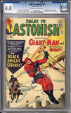 Tales to Astonish #52  CGC 4.0