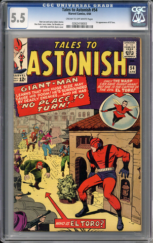 Colorado Comics - Tales to Astonish #54  CGC 5.5