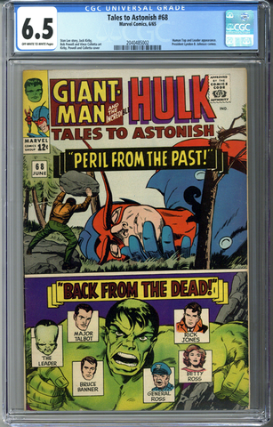 Tales to Astonish #68 CGC 6.5
