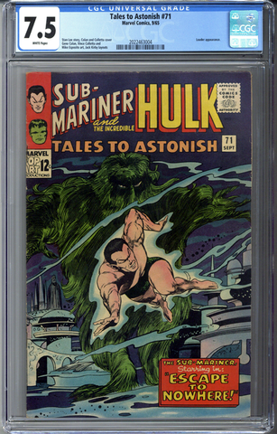 Tales to Astonish #71 CGC 7.5