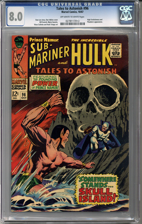 Colorado Comics - Tales to Astonish #96  CGC 8.0