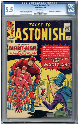 Tales to Astonish #56  CGC 5.5