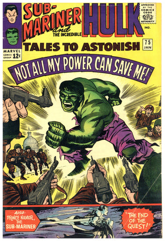 Tales to Astonish #75 Fine