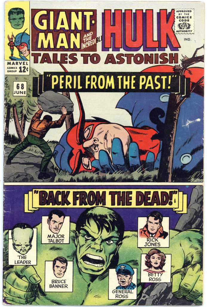 Tales to Astonish #68 VG+