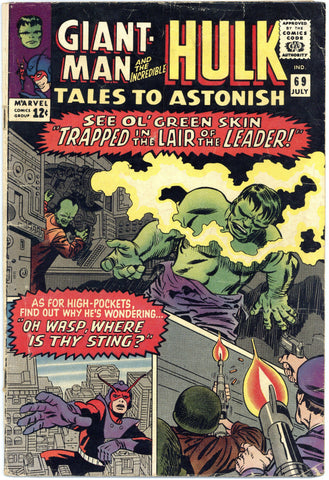 Tales to Astonish #69 VG+