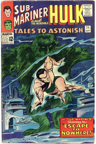 Tales to Astonish #71 VG/F