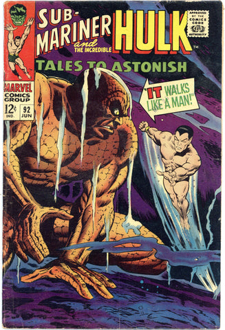 Tales to Astonish #92 VG