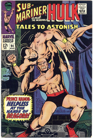 Tales to Astonish #94 VG/F