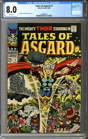 Tales of Asgard #1 CGC 8.0