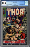 Colorado Comics - Thor #152  CGC 8.5