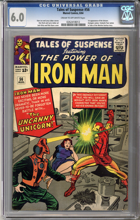 Colorado Comics - Tales of Suspense #56  CGC 6.0